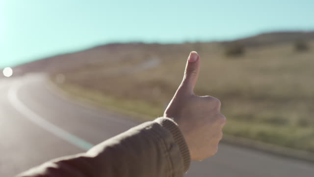 hitchhiker - thumb stock videos & royalty-free footage