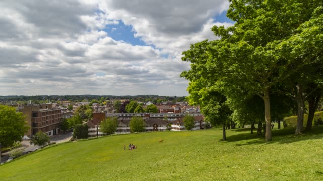 hitchin timelapse - horizon over land stock videos & royalty-free footage