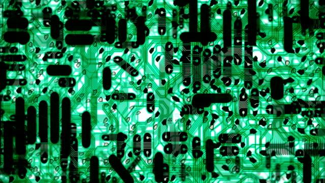 Hi-Tech Futuristic Cyber Background