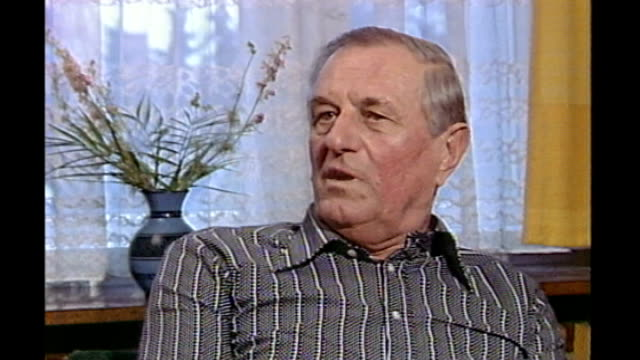 hitler's bodyguard rochus misch dies as300485008 / 3041985 int rochus misch interview sot i stood up and was about to go and get something to eat... - bodyguard stock videos & royalty-free footage