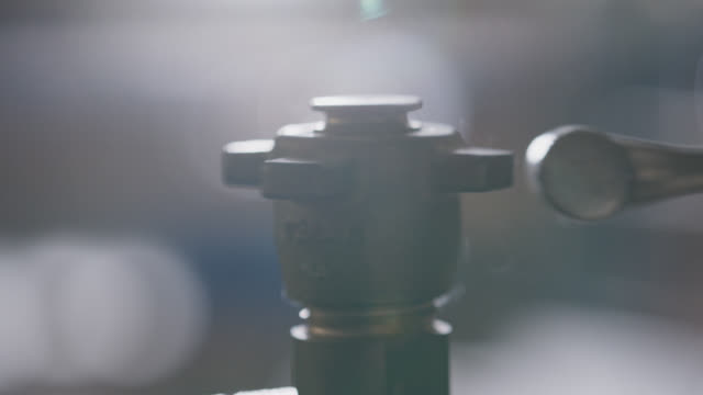 slo mo cu hitting a metal valve with hammer - strike industrial action stock videos & royalty-free footage