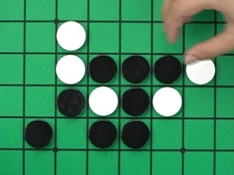 vidéos et rushes de hitting blocks with hammer - reversi