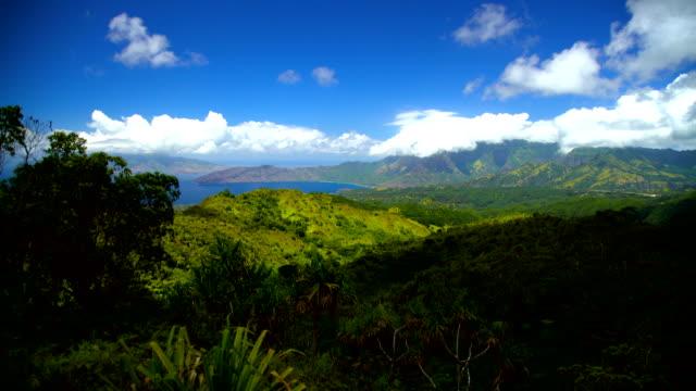 hiva oa marquesan coastline polynesian paradise marquesas pacific - polynesischer abstammung stock-videos und b-roll-filmmaterial