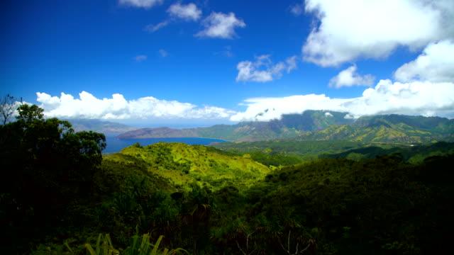 hiva oa marquesan coastline polynesian paradise marquesas pacific - polynesiskt ursprung bildbanksvideor och videomaterial från bakom kulisserna
