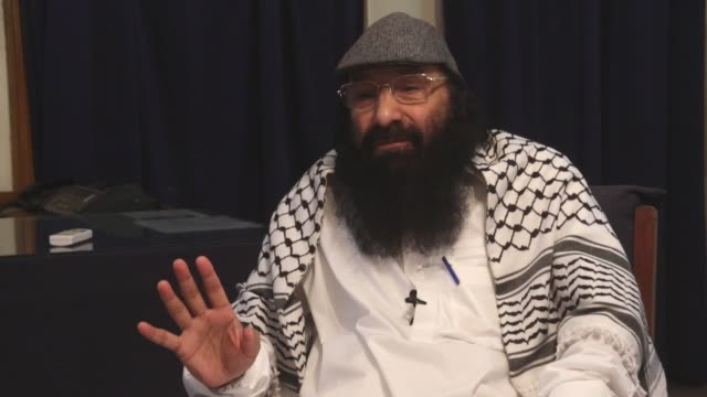 hizbul mujahideen chief syed salahuddin speaks at an exclusive interview in islamabad pakistan on july 19 2017 salahuddin has dismissed the us's... - uss constitution stock videos and b-roll footage