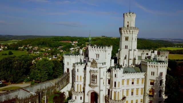 Hluboka nad vltavou castle,  Bohemia,Czech Republic.