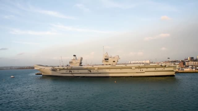 Hms Queen Elizabeth at Portsmouth