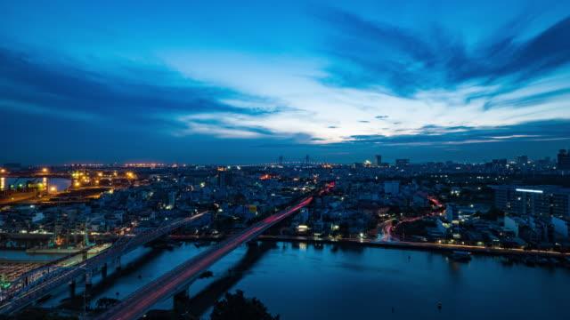 Ho Chi Minh City, Vietnam Time Lapse