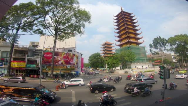 ho chi minh cityscape, vietnam - vietnam stock videos & royalty-free footage