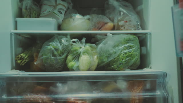hoarding - concept - frozen food stock videos & royalty-free footage