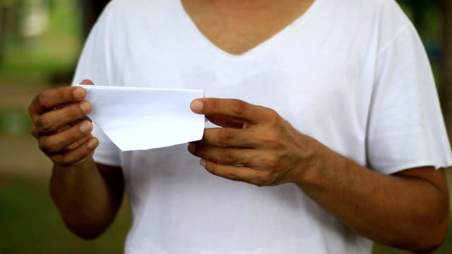 hobby of man set up paper airplane - folding paper stock videos and b-roll footage