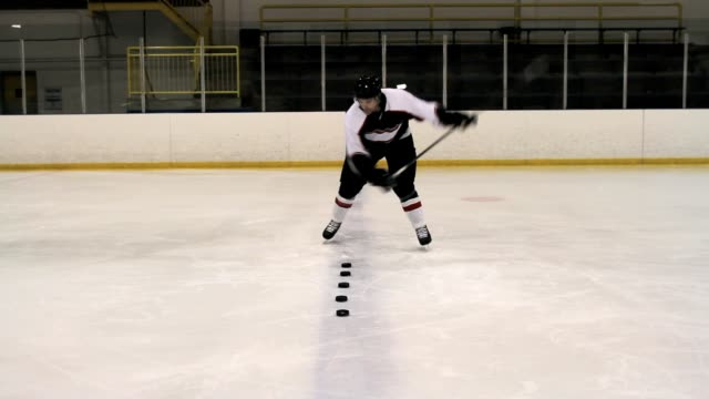 hockey player - hockey glove stock videos & royalty-free footage
