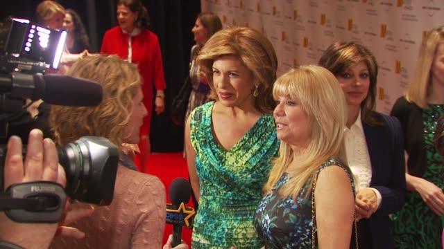 hoda kotb and kathy lee gifford at the 2009 matrix awards at new york ny. - kathie lee gifford stock videos & royalty-free footage