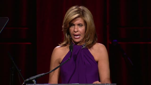 hoda kotb at 2014 angel ball benefitting gabrielle's angel foundation for cancer research at cipriani wall street on october 20, 2014 in new york... - hoda kotb stock videos & royalty-free footage