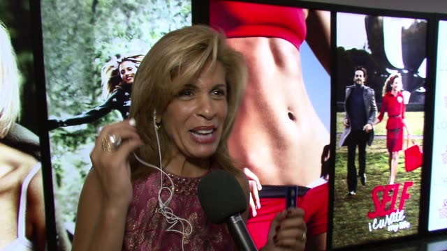 hoda kotb on her taste in music, particularly for her workouts. at the self magazine women doing good awards at new york ny. - hoda kotb stock videos & royalty-free footage