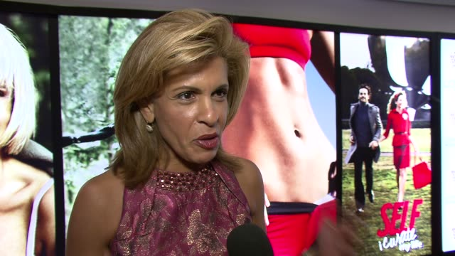 hoda kotb on spending most of her time interviewing celebrities and this event being about celebrating regular people who quietly do terrific things.... - hoda kotb stock videos & royalty-free footage