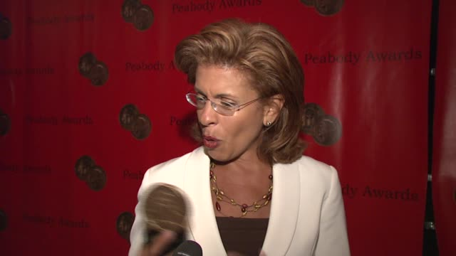 hoda kotb on winning the peabody the genesis for the project and what she learned through monica groves at the 66th annual peabody awards press room... - 2007 stock videos & royalty-free footage