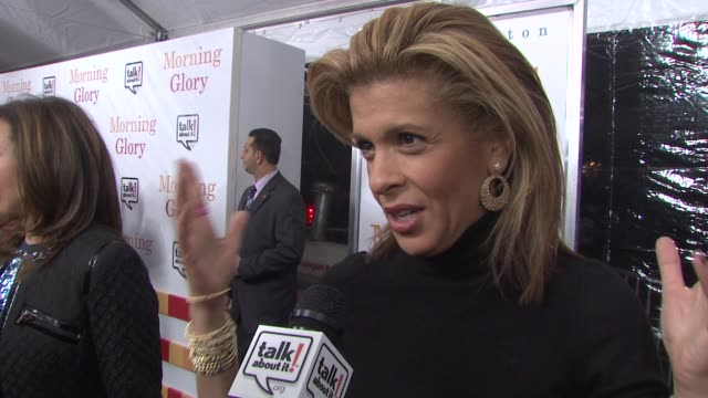 hoda kotb says epilepsy doesn't get as much attention as other ailments so it's good that tonight focuses on it. at the world premiere of 'morning... - hoda kotb stock videos & royalty-free footage