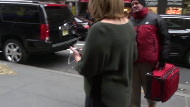 Hoda Kotb's mom Sameha arrives at the TODAY show on December 08 2014 in New York City
