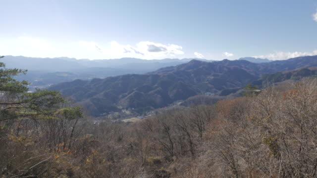 Hodosan mountain top view, Chichibu, Japan