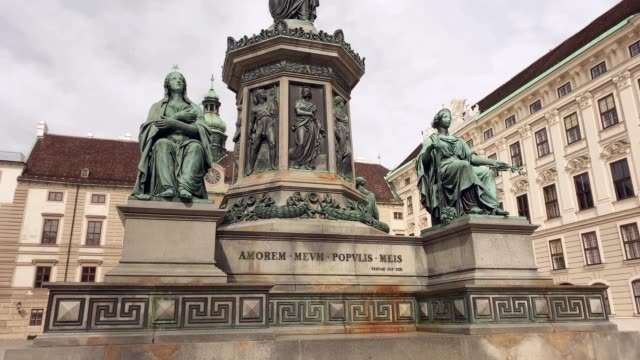 hofburg complex vienna - the hofburg complex stock videos & royalty-free footage
