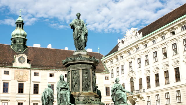 hofburg palace - time lapse - the hofburg complex stock videos & royalty-free footage