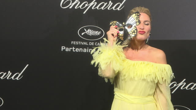 vídeos de stock, filmes e b-roll de hofit golan at chopard party the 71st annual cannes film festival on may 11 2018 in cannes france - cannes