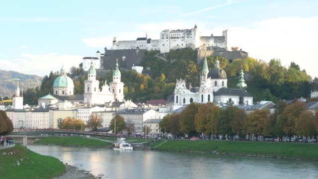 La forteresse Hohensalzburg Salzbourg Autriche
