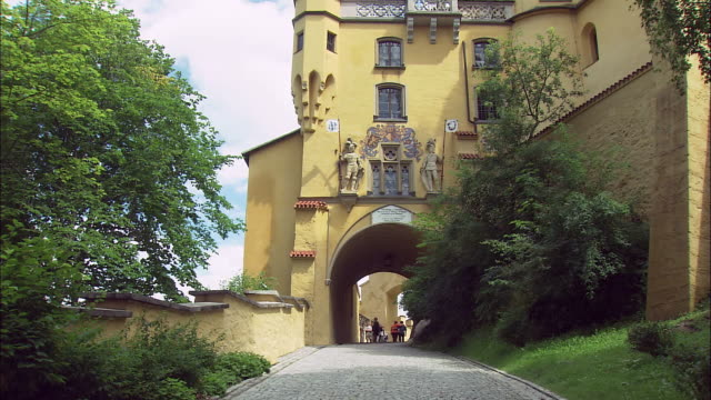 MS TU LA Hohenschwangau Castle exterior, Bavaria, Germany