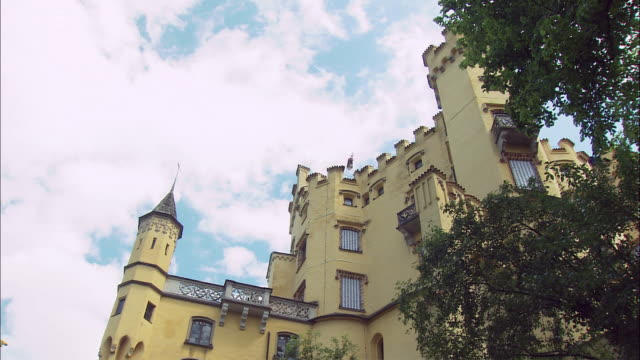 MS LA TD Hohenschwangau Castle exterior, Bavaria, Germany