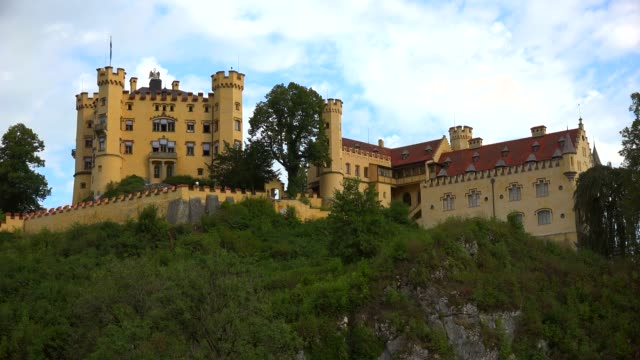 Hohenschwangau Castle near Schwangau, Allgaeu, Swabia, Bavaria, Germany