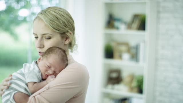holding baby boy - mother stock videos & royalty-free footage
