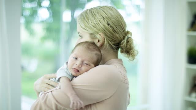 Holding Newborn Son