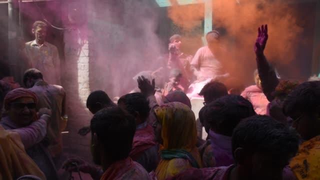vídeos y material grabado en eventos de stock de holi festival, india. - otros temas
