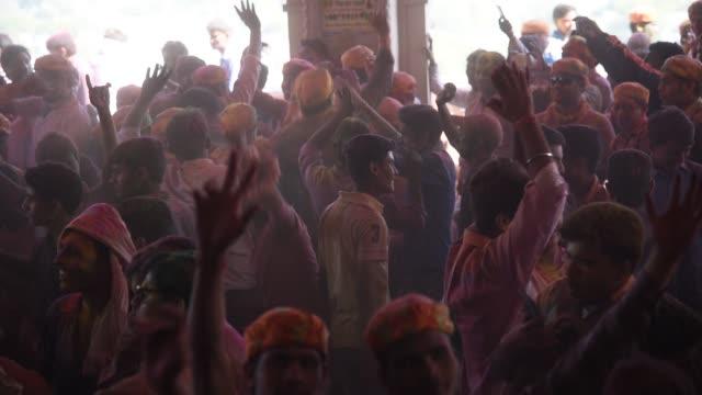 vidéos et rushes de holi festival, india. - autre thème