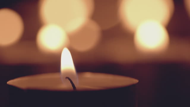holiday candles - spirituality stock videos & royalty-free footage
