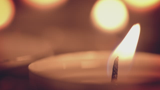 holiday candles - candle stock videos & royalty-free footage
