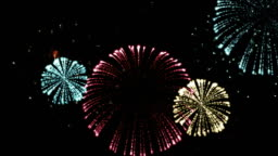 Holiday Color Fireworks