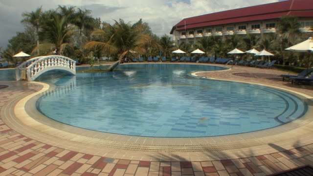 WS Holiday resort with pool, Sihanouksville, Cambodia