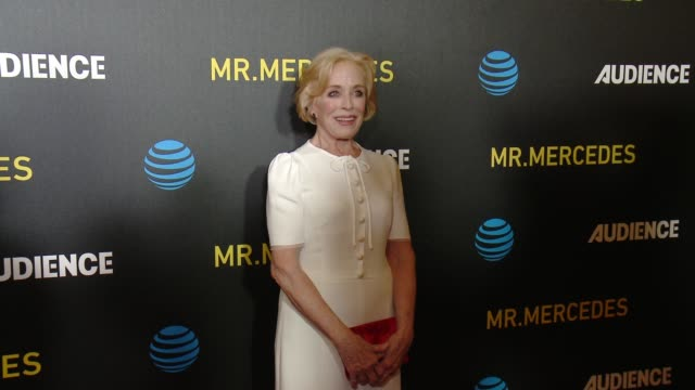 """Holland Taylor at ATT AUDIENCE Network's """"Mr Mercedes"""" Premiere in Los Angeles CA"""