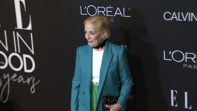 Holland Taylor at ELLE's 25th Annual Women In Hollywood Celebration Presented By L'Oreal Paris Hearts OnFire And Calvin Klein on October 15 2018 in...