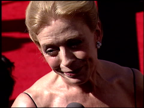 Holland Taylor at the 2000 Emmy Awards at the Shrine Auditorium in Los Angeles California on September 10 2000