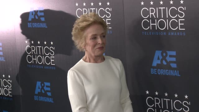 Holland Taylor at the 2015 Critics' Choice Television Awards at The Beverly Hilton Hotel on May 31 2015 in Beverly Hills California