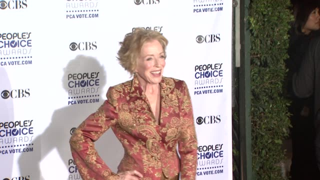 Holland Taylor at the 35th Annual People's Choice Awards at Los Angeles CA