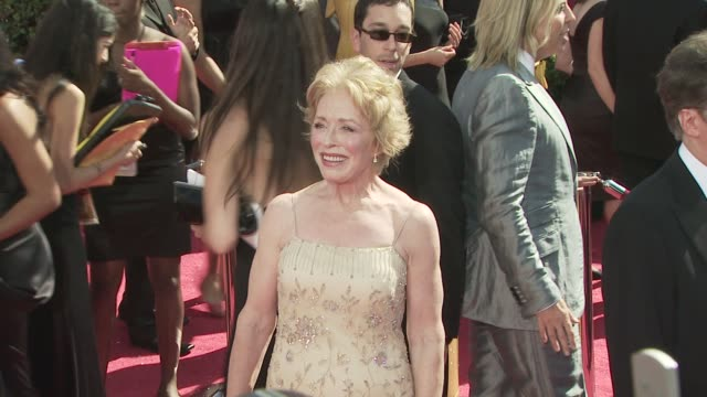Holland Taylor at the 60th Primetime Emmy Awards at Los Angeles CA