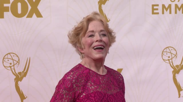 Holland Taylor at the 67th Annual Primetime Emmy Awards at Microsoft Theater on September 20 2015 in Los Angeles California