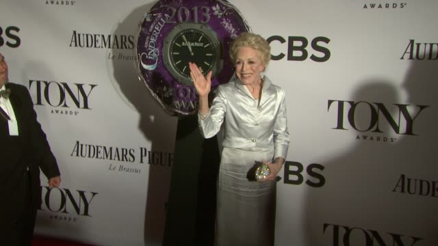 Holland Taylor at The 67th Annual Tony Awards Arrivals at Radio City Music Hall on June 09 2013 in New York New York