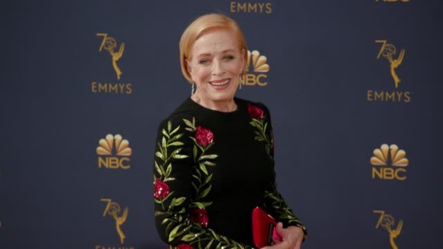 holland taylor at the 70th emmy awards arrivals at microsoft theater on september 17 2018 in los angeles california - 70th annual primetime emmy awards stock videos and b-roll footage