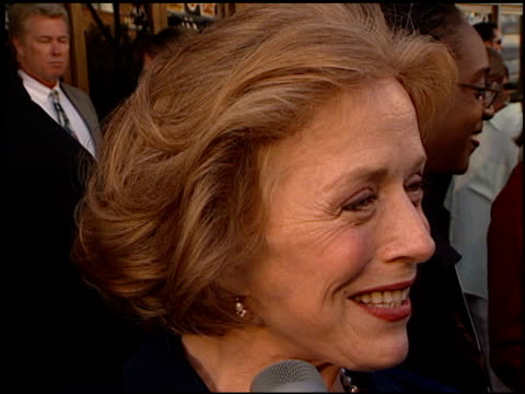 Holland Taylor at the Premiere of 'The Truman Show' at National Theater in Westwood California on June 1 1998