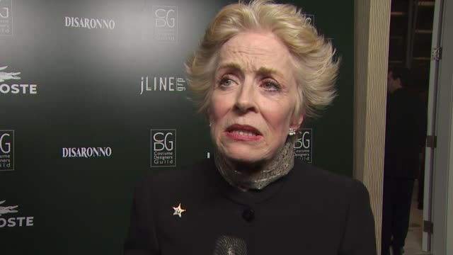Holland Taylor on the importance of costume designers to an actor at the 13th Annual Costume Designers Guild Awards at Beverly Hills CA